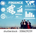 chart currency loan financial... | Shutterstock . vector #338629259