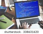php programming html coding... | Shutterstock . vector #338631620