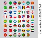 nation flag. | Shutterstock .eps vector #338632364