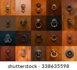 collage of a variety of... | Shutterstock . vector #338635598