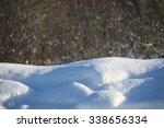 Fresh Snow Cover On Rural Fiel...