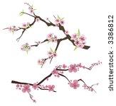 vector branch design series.... | Shutterstock .eps vector #3386812