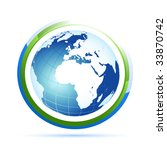 world icon | Shutterstock .eps vector #33870742