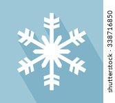 snowflake icon. snowflake icon... | Shutterstock .eps vector #338716850