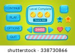 game interface  buttons ...
