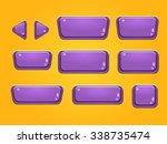 set of buttons  bright... | Shutterstock .eps vector #338735474
