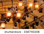stage lights | Shutterstock . vector #338740208