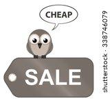 sepia sale item ticket going... | Shutterstock . vector #338746079