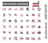 industrial business  factory ... | Shutterstock .eps vector #338758439