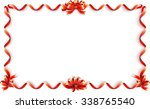 Red Ribbon Frame For Happy...