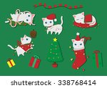 Christmas Concept Of Cute Whit...