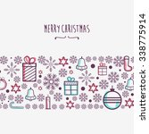 christmas greeting card. | Shutterstock .eps vector #338775914