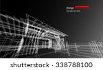 abstract architectural... | Shutterstock .eps vector #338788100