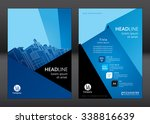 brochure template design.... | Shutterstock .eps vector #338816639