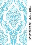 raster. seamless damask...   Shutterstock . vector #33881863