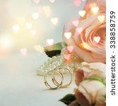 wedding ring    Shutterstock . vector #338858759