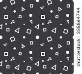 seamless geometric elements... | Shutterstock .eps vector #338864744