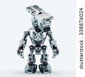Stylish Silver Robot  ...