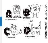 finnish alphabet. aquarium fish ... | Shutterstock . vector #338877854