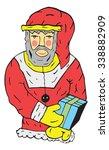 santa claus vector illustration | Shutterstock .eps vector #338882909