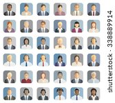 business people icons | Shutterstock .eps vector #338889914