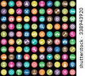 repair 100 icons universal set