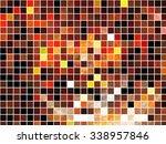 abstract background. orange... | Shutterstock . vector #338957846