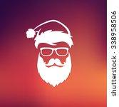vector hipster santa claus... | Shutterstock .eps vector #338958506
