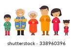 a traditional chinese new year... | Shutterstock .eps vector #338960396