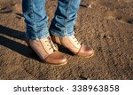 autumn shoes. conceptual image... | Shutterstock . vector #338963858