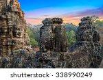 Statue Bayon Temple Angkor Thom ...