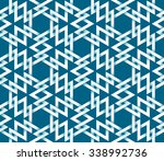 abstract repeatable pattern... | Shutterstock .eps vector #338992736