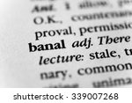 Small photo of Banal