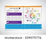 layout magazine  vector  | Shutterstock .eps vector #339075776