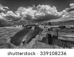 Wreck Of A Ancient Rusty Car In ...