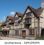 william shakespeare birthplace... | Shutterstock . vector #339109694