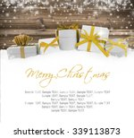 photo of gifts with colorful... | Shutterstock . vector #339113873