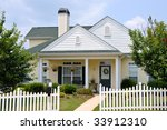 Cottage Style Home - stock photo