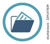 document folder vector icon....   Shutterstock .eps vector #339147839