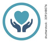 charity vector icon. style is...   Shutterstock .eps vector #339148076