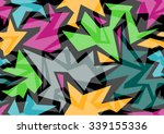 pattern modern colorful ... | Shutterstock .eps vector #339155336