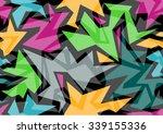 pattern modern colorful ... | Shutterstock .eps vector #339155336