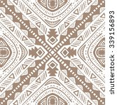 tribal vector seamless pattern. ... | Shutterstock .eps vector #339156893