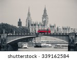 big ben  house of parliament... | Shutterstock . vector #339162584
