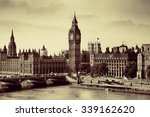 london westminster with big ben ... | Shutterstock . vector #339162620