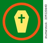 coffin vector icon. style is... | Shutterstock .eps vector #339220640