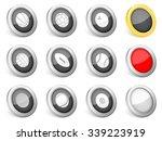 3d icons sport ball on white... | Shutterstock .eps vector #339223919