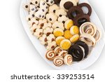 Various Kinds Of Cookies And O...