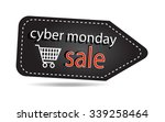 cyber monday sales tag isolated ... | Shutterstock .eps vector #339258464