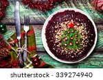 vegetable salad from beetroot... | Shutterstock . vector #339274940